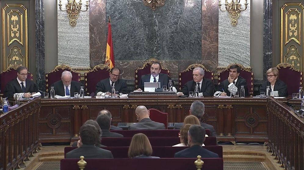 Foto: El tribunal, en la última sesión del juicio. (EFE)