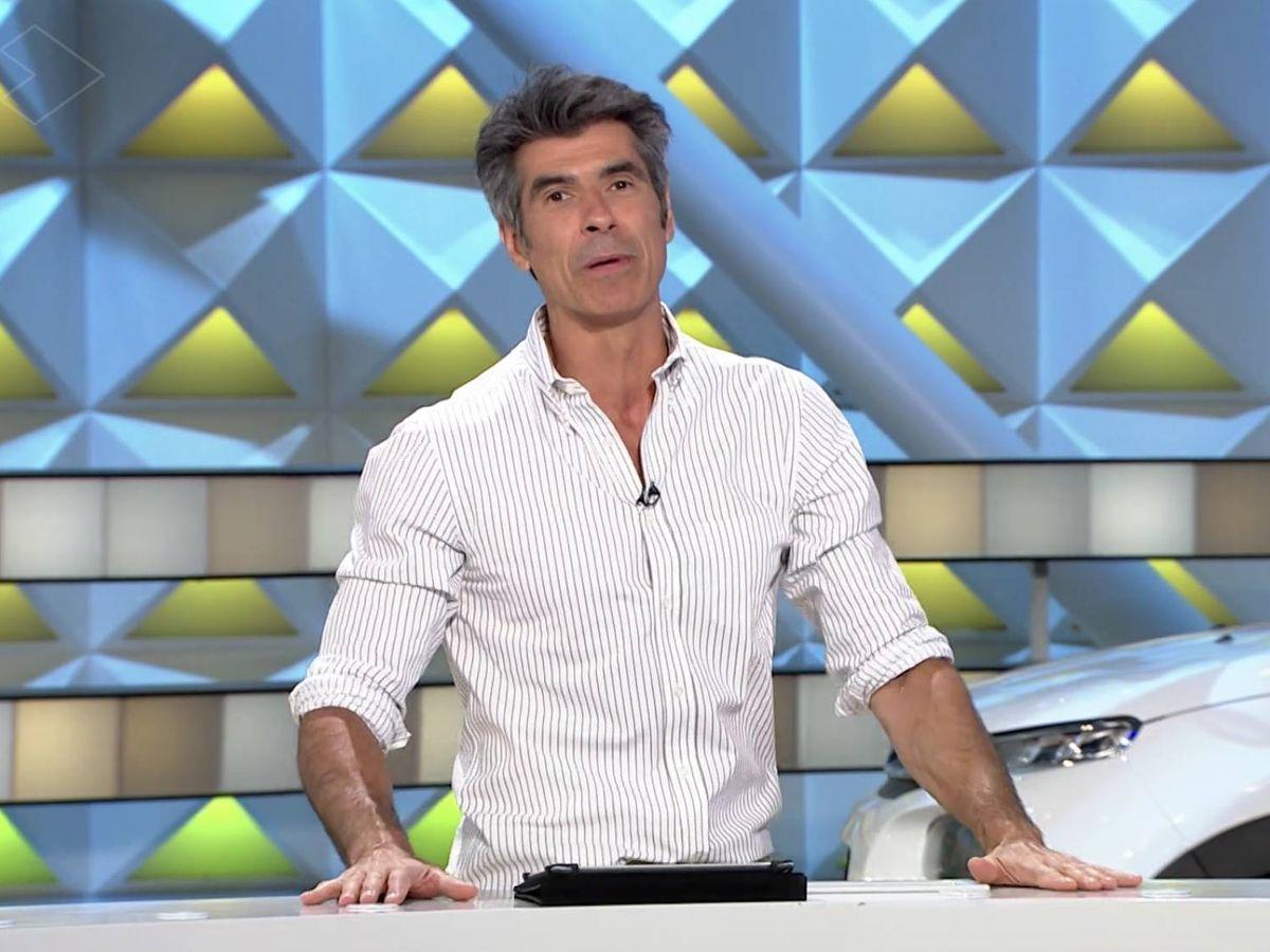 Foto: Jorge Fernández en 'La ruleta de la suerte'. (Atresmedia Televisión)
