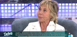 Post de La mujer de Chelo se estrena en 'Sábado Deluxe' hablando de su enfermedad