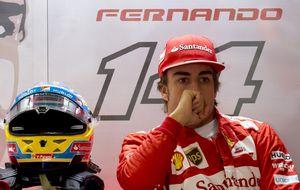 El gol de la honra de Fernando Alonso ante Sebastian Vettel