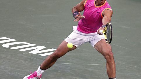 Rafa Nadal machaca a Schwartzman en dos sets y pasa a octavos en Indian Wells