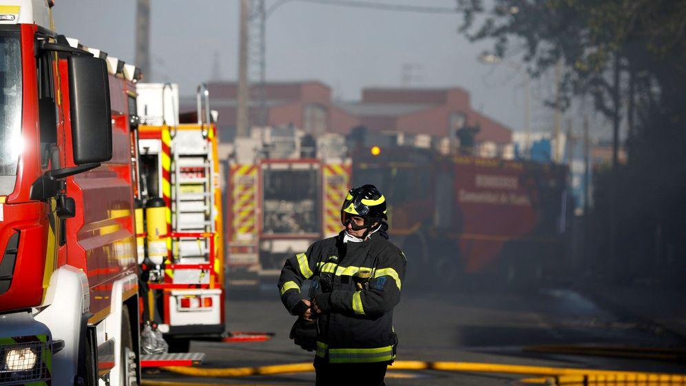 Foto: Imagen de archivo de un camión de bomberos. (EFE)