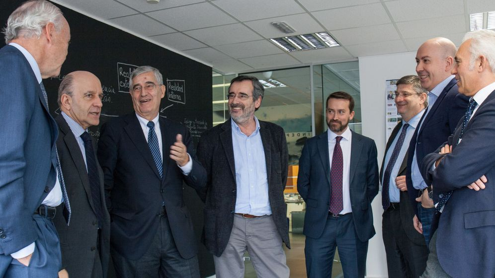 Foto: Primera reunión del Consejo Editorial de El Confidencial. (P. López Learte)