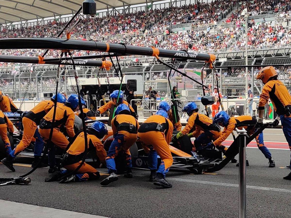 Foto: En pocas ocasiones durante 2019 el equipo McLaren ha conseguido colocarse entre los cinco primeros en las paradas en boxes. (McLaren)