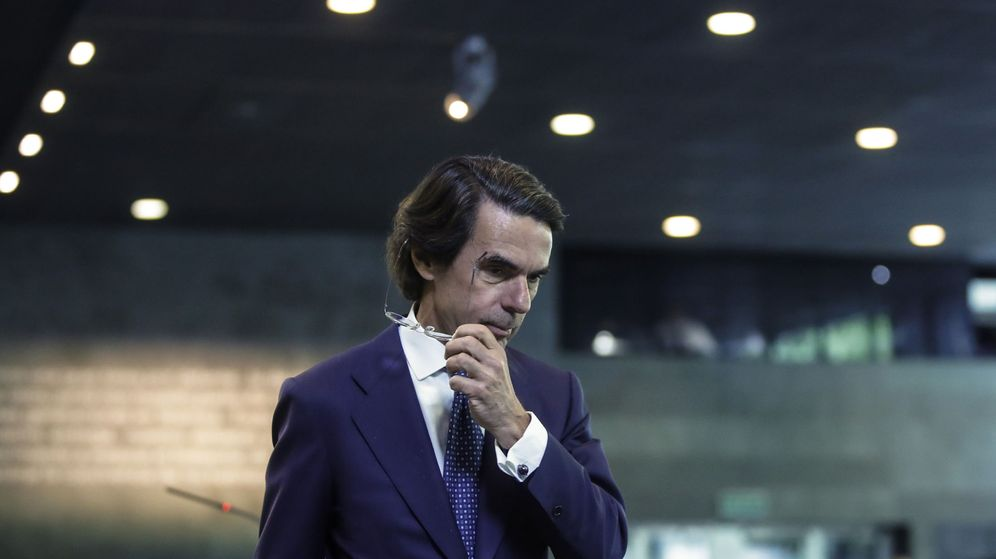 Foto: El expresidente del Gobierno y presidente de la Fundación FAES, José María Aznar. (EFE)