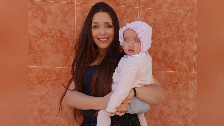 Ariadna se quedó embarazada cuando tenía 16 años. (cedida)