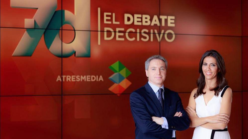 Foto: Vicente Vallés y Ana Pastor. (Atresmedia)