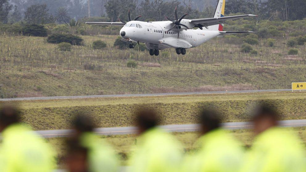 Encuentran un cadáver en el baño de un avión que viajaba de Madrid a Cali