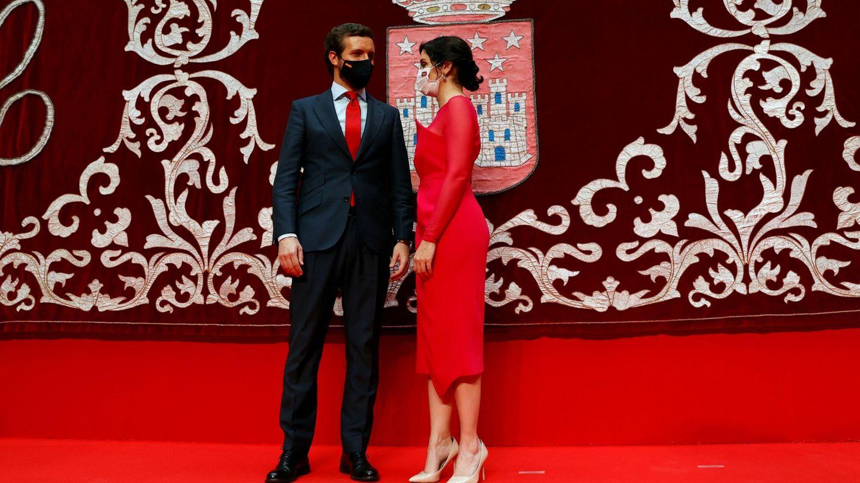 Pablo Casado e Isabel Díaz Ayuso. (EFE)