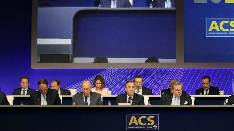 Florentino Pérez, primer accionista de ACS tras otra venta de March