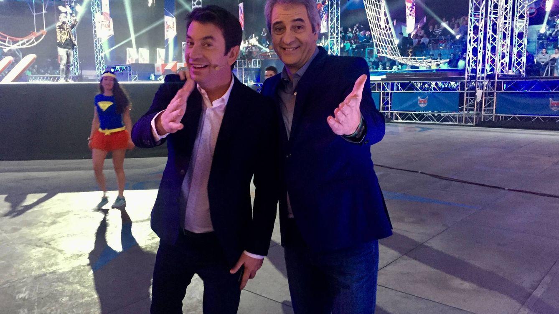Arturo Valls y Manolo Lama, la simbiosis perfecta de 'Ninja Warrior'