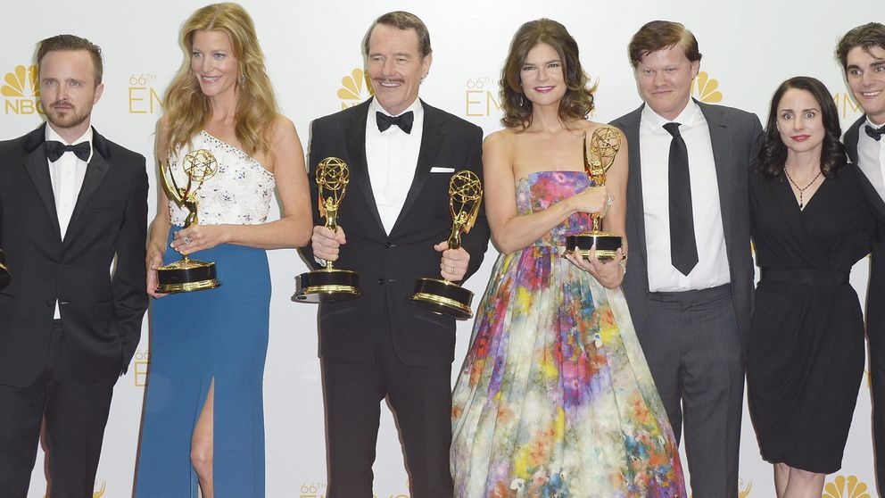 Los Emmy encumbran a 'Breaking Bad'