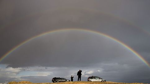 Arcoíris en Mar Muerto