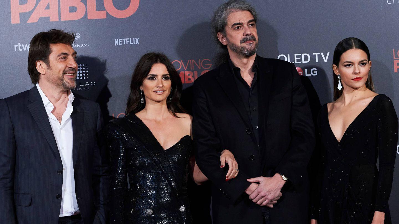 Javier Bardem, Penélope Cruz, Fernando León de Aranoa y Julieth Restrepo. (Limited Pictures)