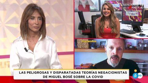 Hasta el mismísimo: María Patiño ('Socialité') arremete contra Miguel Bosé