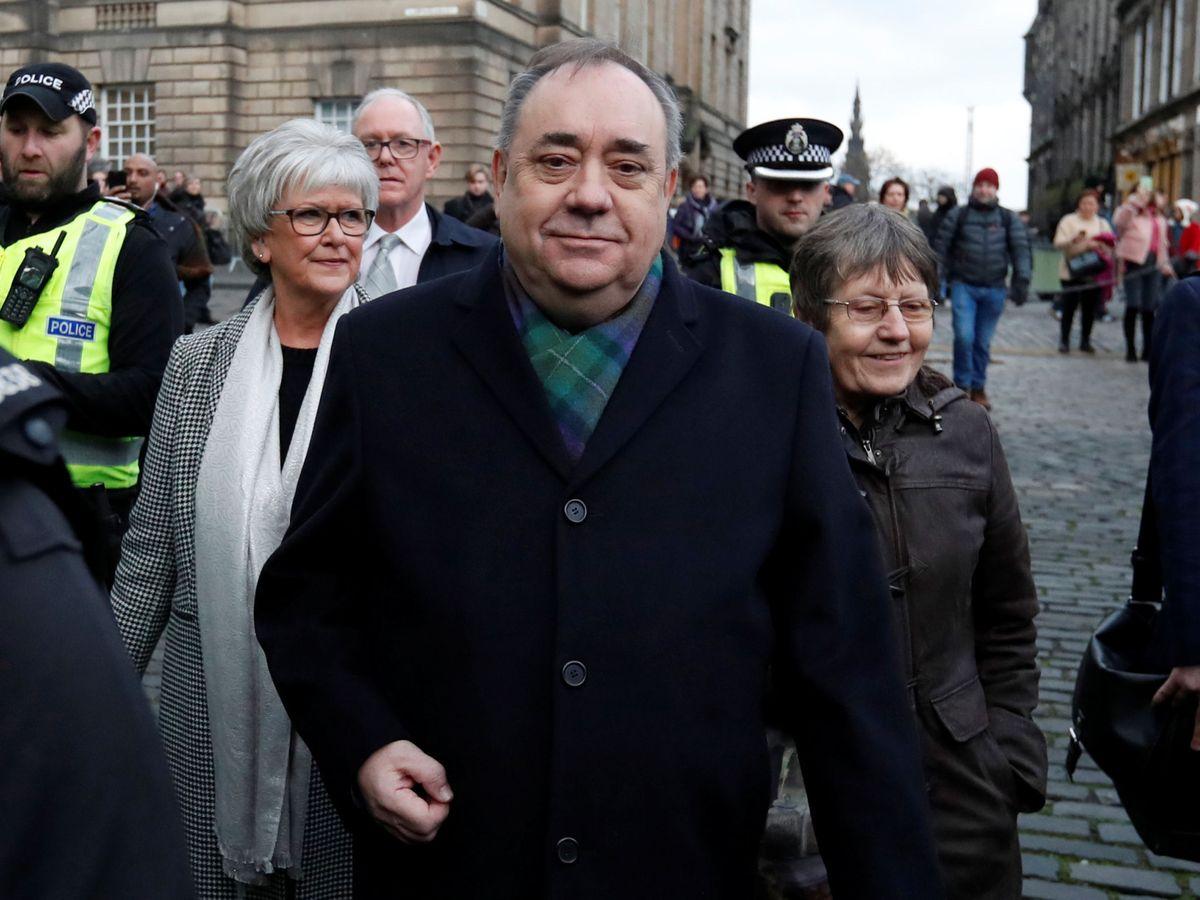 Foto: El ex ministro principal escocés, Alex Salmond. (Reuters)