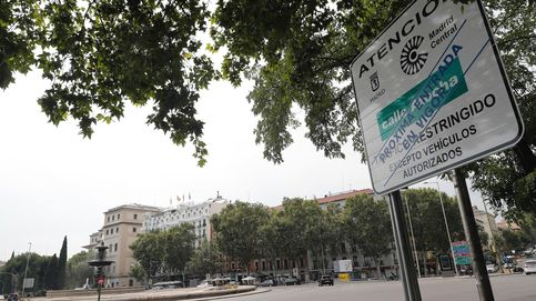 Madrid Central arrancará sin paneles que avisen de los 'parkings' libres