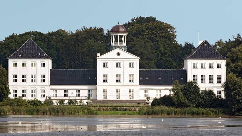 El palacio de Grasten. (Kongehuset)