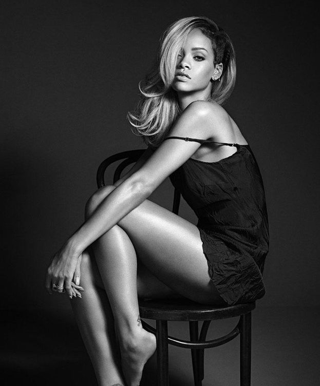 Foto: Rihanna en una campaña de publicidad