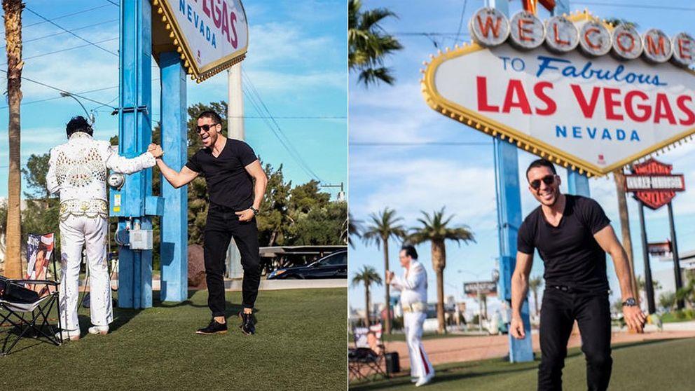 Instagram - Miguel Ángel Silvestre se divierte en Las Vegas