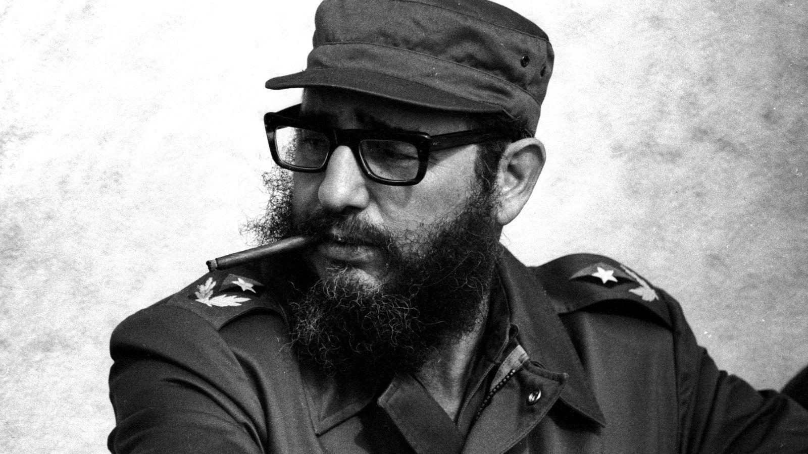 Foto: Fotografía de archivo del líder cubano, Fidel Castro, en 1976. (Reuters)