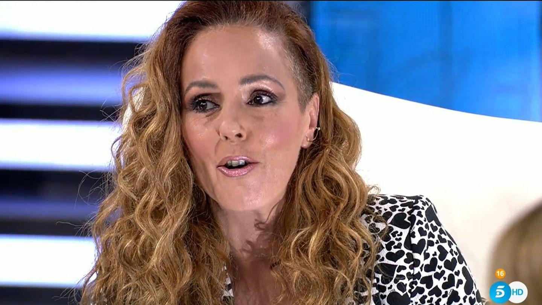 Rocío Carrasco, en su última entrevista televisada. (Mediaset)