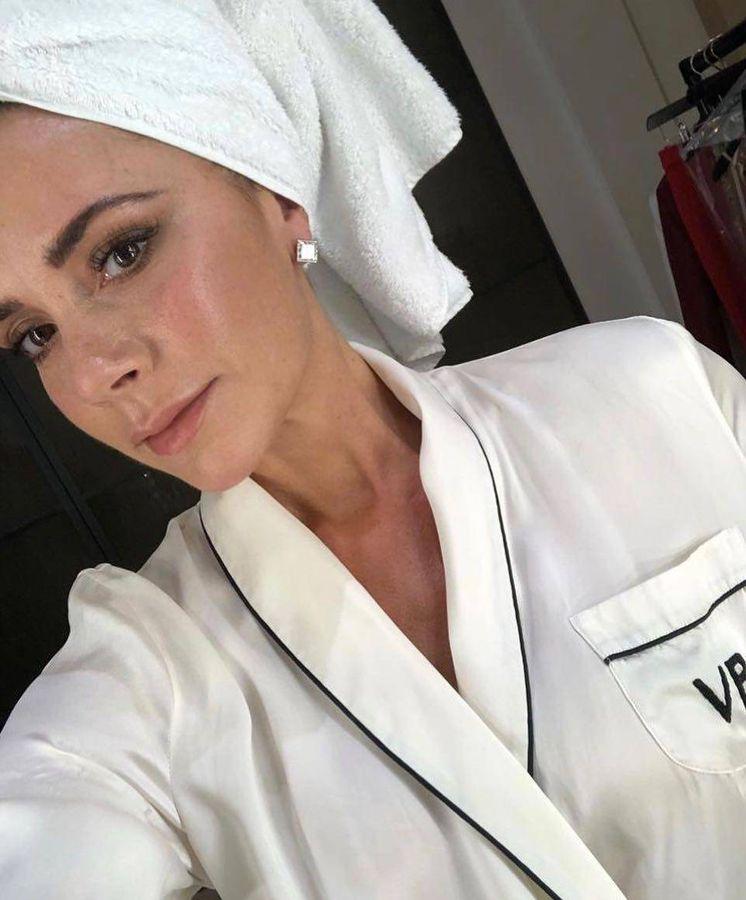 Foto: Victoria, en una de sus sesiones beauty. (Instagram)