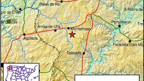 Detectado un seísmo de 4,1 grados en la localidad de Monterroso, en Lugo