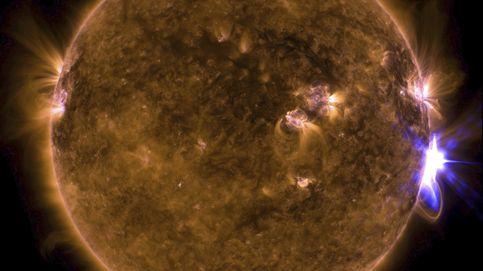 La NASA captura una de las llamaradas más potentes