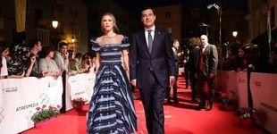 Post de ¿Es una celebrity? No, es Manuela Villena (primera dama andaluza) en Málaga