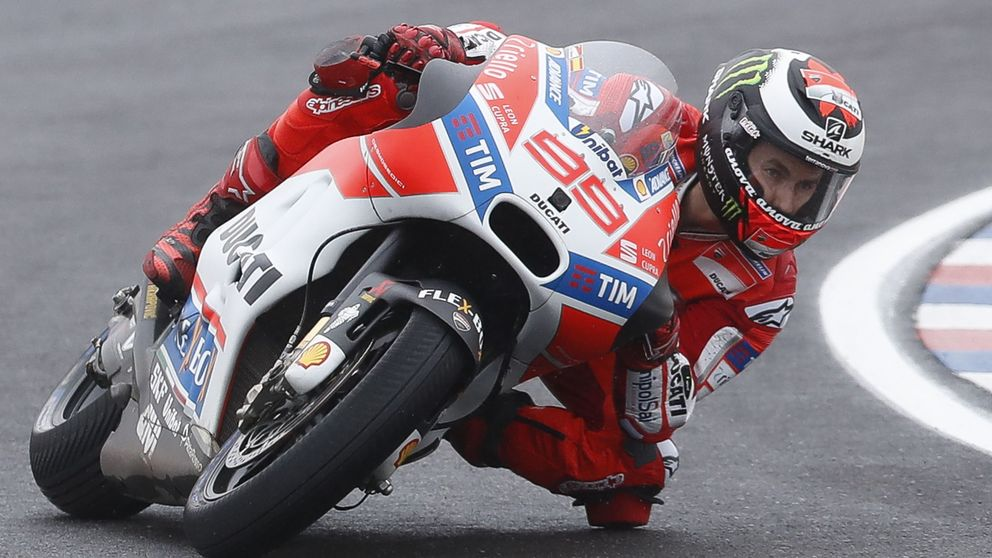 La película de terror que Jorge Lorenzo está grabando en Ducati