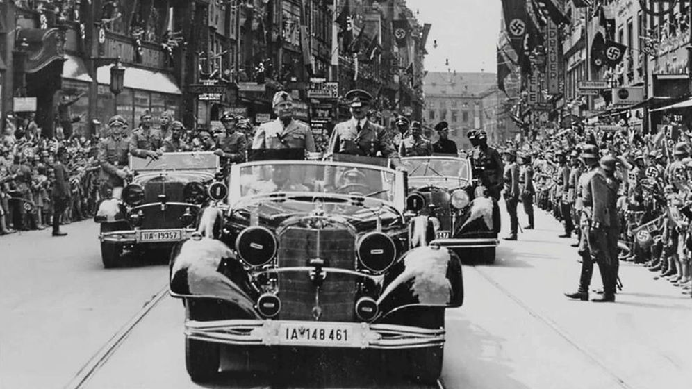Foto: Hitler y Mussolini, cuando 'Il Duce' conoció la Alemania nazi.
