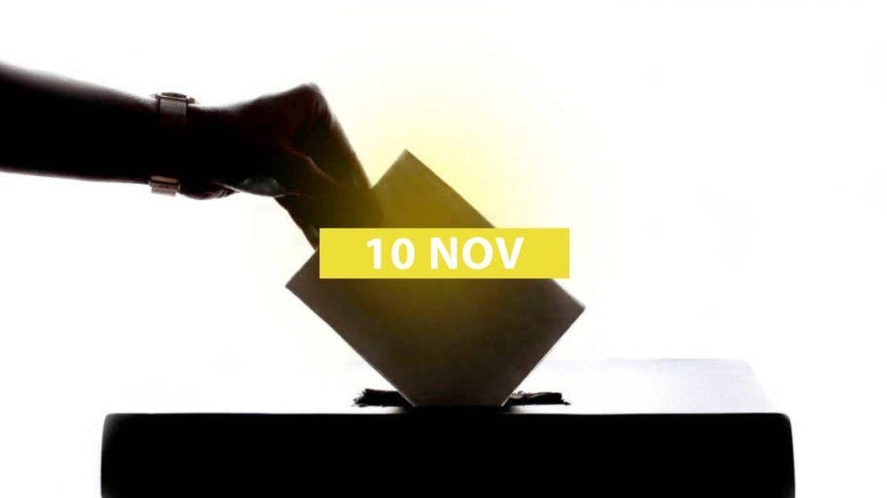 Foto: Elecciones generales del 10 de noviembre. (El Confidencial)