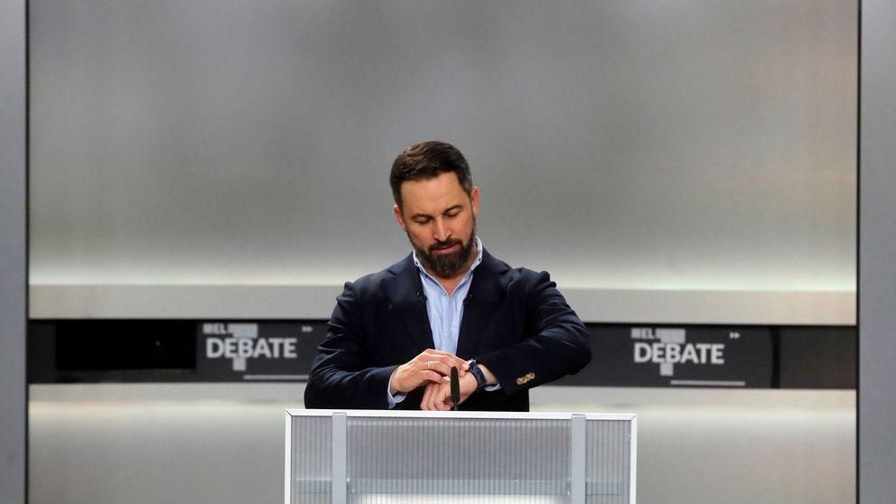 Santiago Abascal (Vox) recurre a una cita del fundador de las JONS en pleno debate