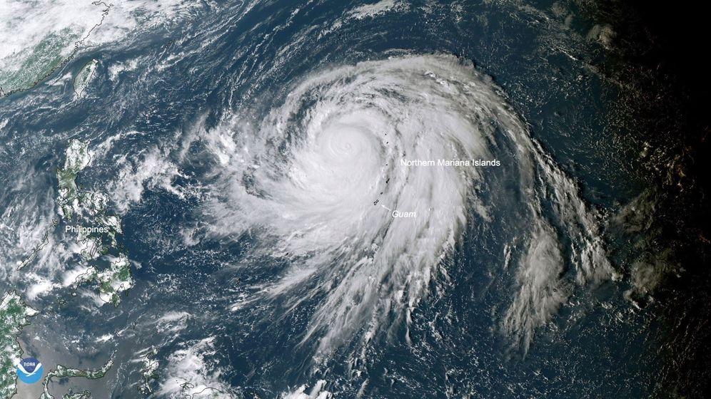Foto: El supertifón Hagibis, la feroz tormenta con 'cabeza de alfiler' que alcanza los 314 km/h. (EFE)