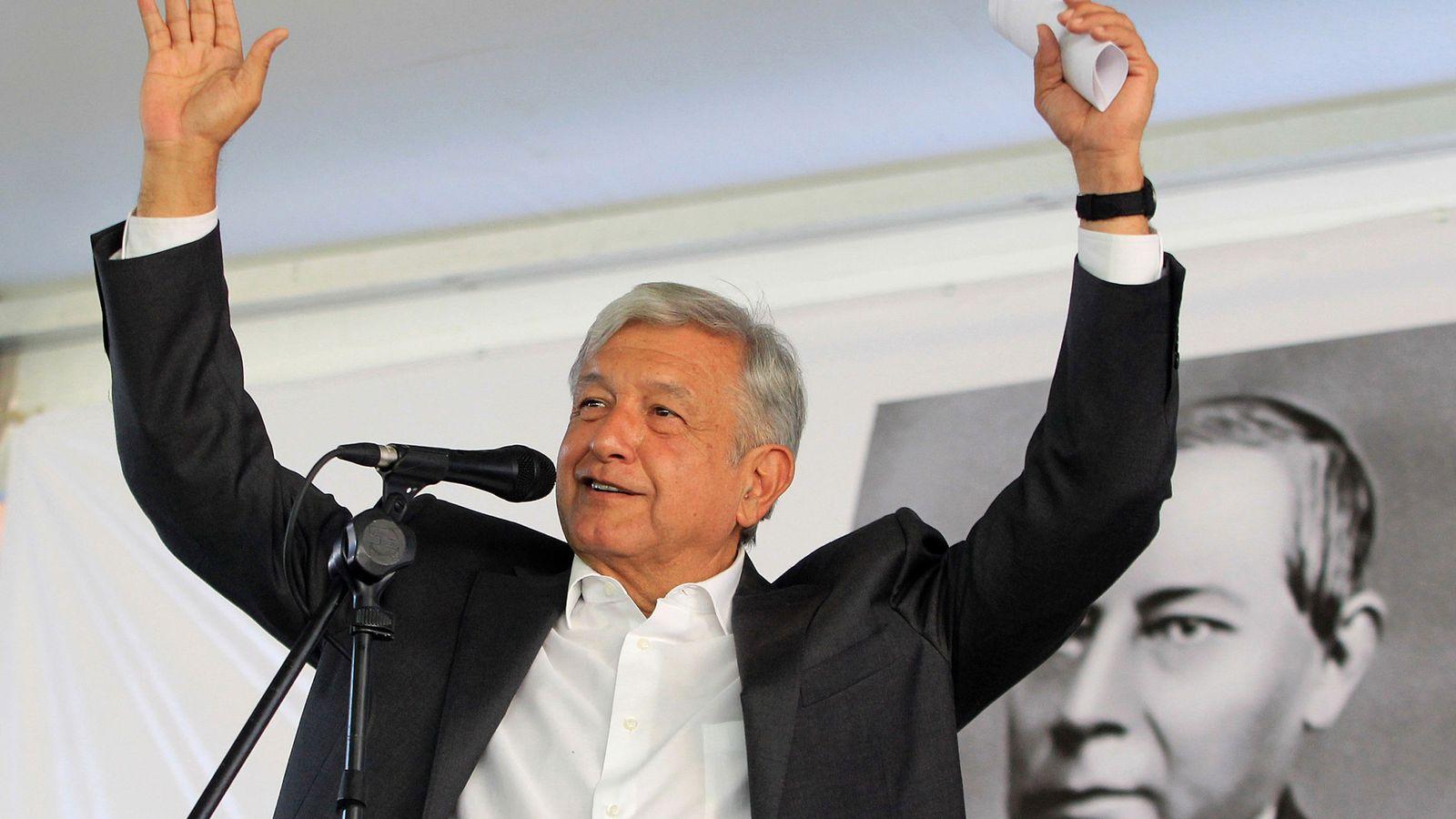 Foto: El presidente electo de México, Andrés Manuel López Obrador. (EFE)