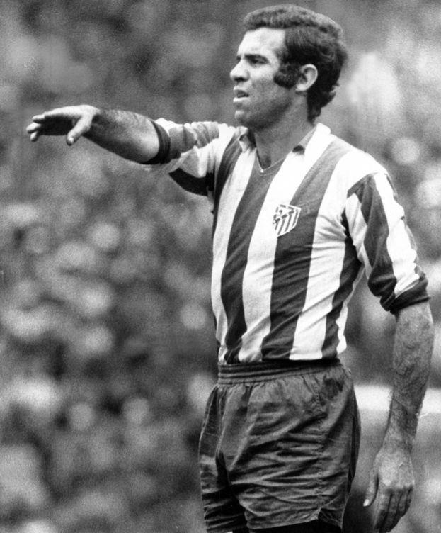 Foto: Luis Aragonés, con el Atlético. (Imago)