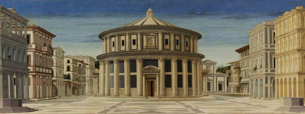 Foto: 'La ciudad ideal' (¿Piero della Francesca?).