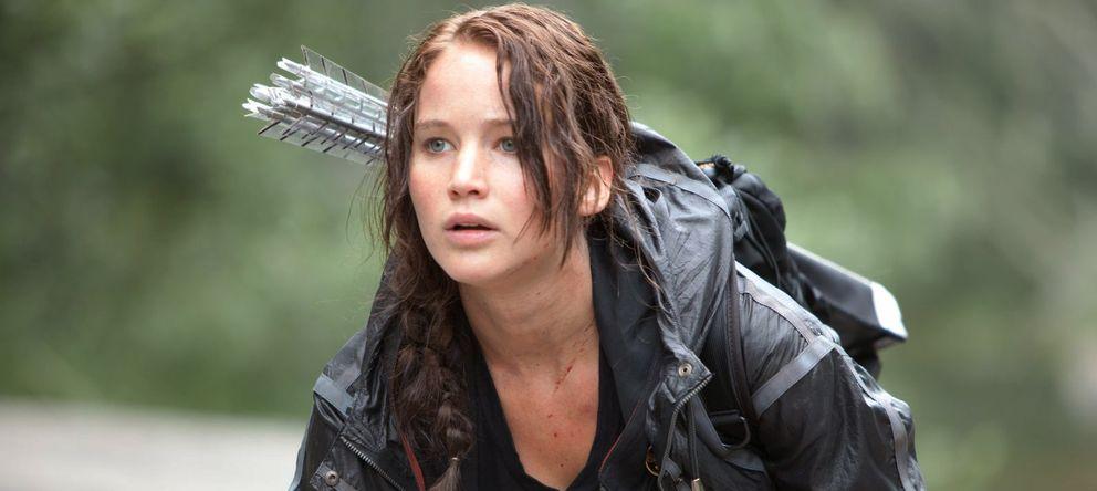 Foto: Jennifer Lawrence en 'Los juegos del hambre'