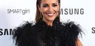 Post de Paula Echevarría tiene 'la diadema' para el pelo rebelde