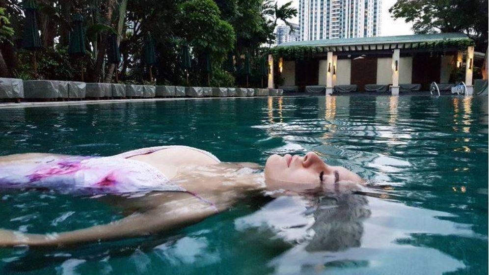Foto: Blanca Suárez en una imagen de su perfil de Instagram en Bangkok.