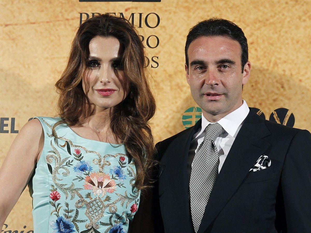 Foto: Paloma Cuevas y Enrique Ponce. (EFE)