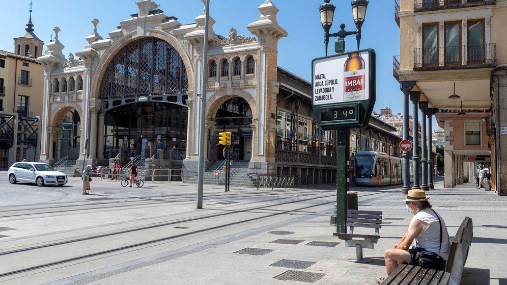 Foto: El Gobierno de Aragón recomendó restringir la movilidad en Zaragoza para frenar el virus. (EFE)