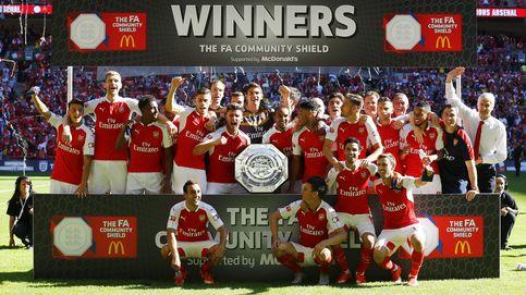 Wenger vence por fin a Mou y el Arsenal se queda con la Community Shield