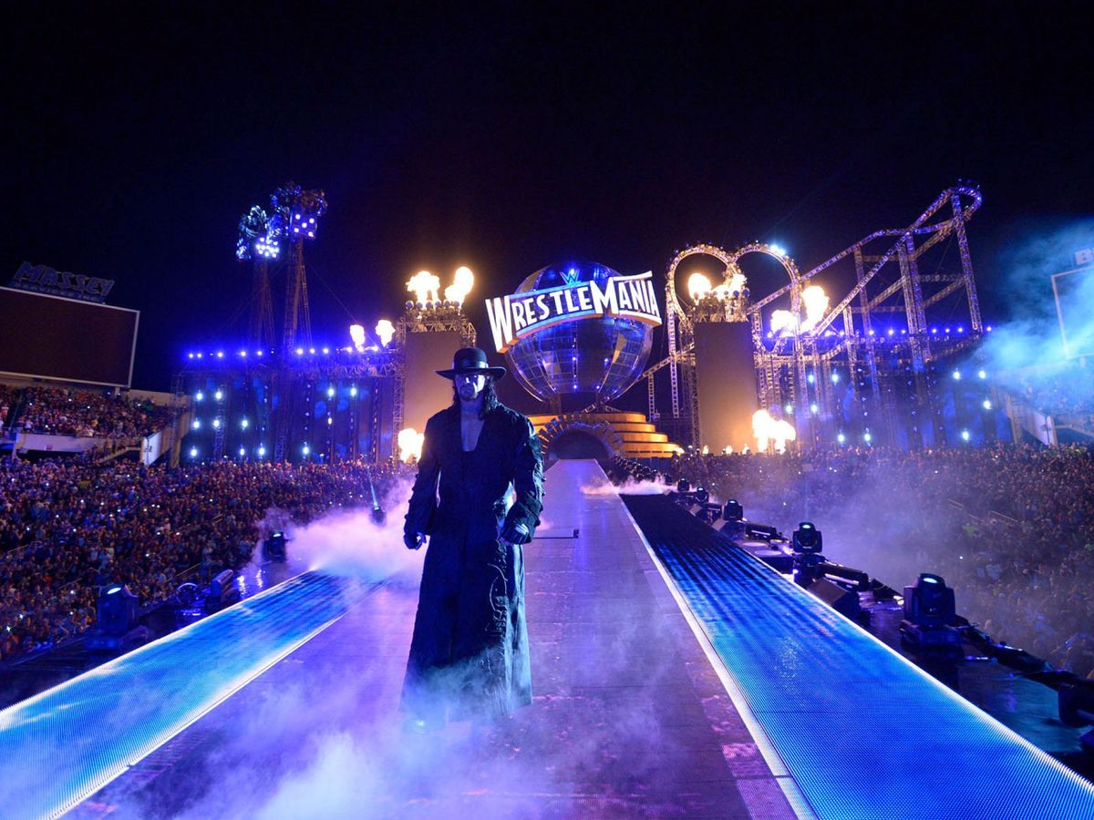 Foto: Undertaker es uno de los grandes iconos de la historia de la WWE (Reuters)