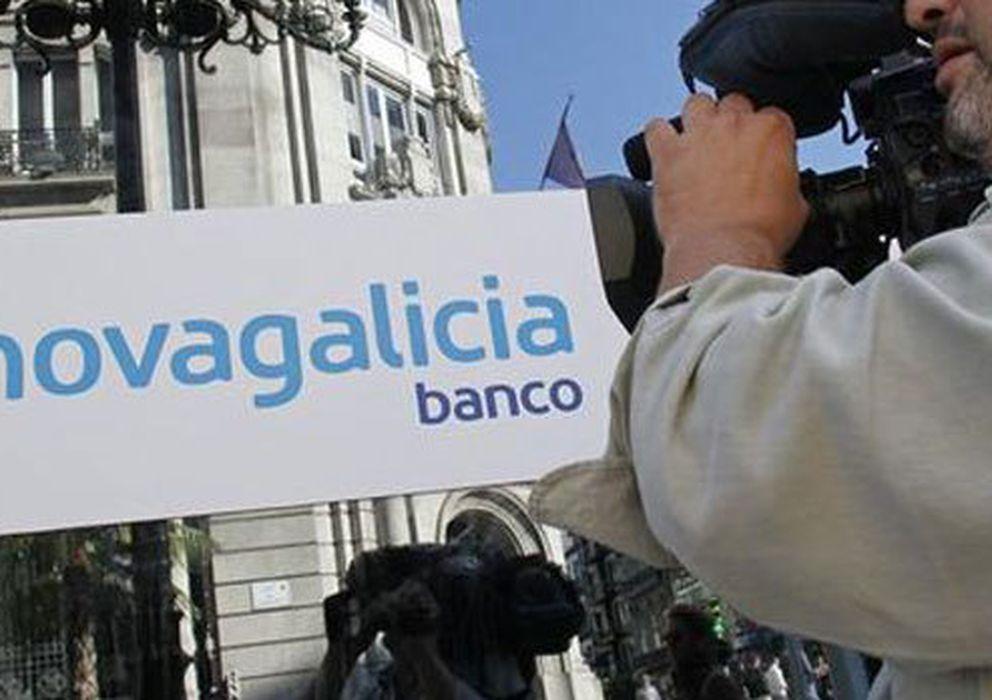Foto: Una de las oficinas de NCG Banco. (EFE)