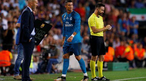 Zidane se irrita para sosegar la persecución a Cristiano Ronaldo