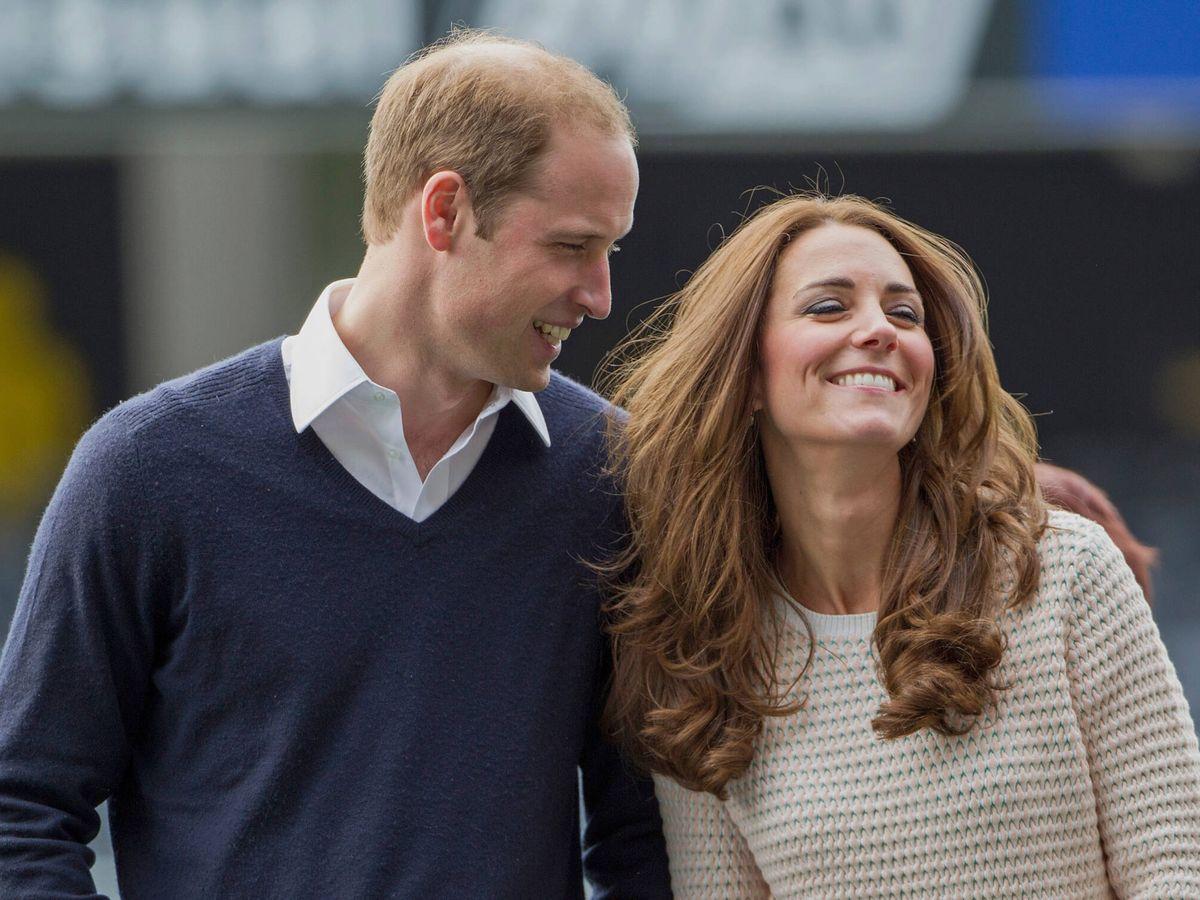 Foto: El príncipe Guillermo y Kate Middleton en una imagen de archivo. (Getty)