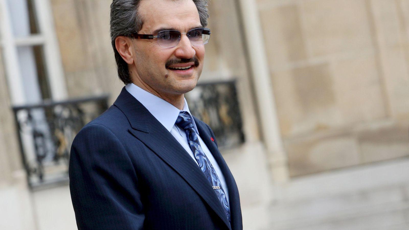 Foto: El príncipe Al Waleed ben Talal. (EFE)