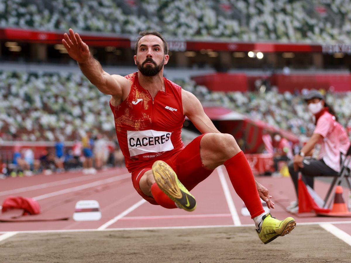 Foto: Eusebio Cáceres, en Tokio 2020 (Reuters)